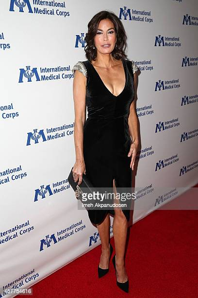 Actress Teri Hatcher attends the International Medical Corps' Annual Awards Dinner Ceremony at the Beverly Wilshire Four Seasons Hotel on October 23...
