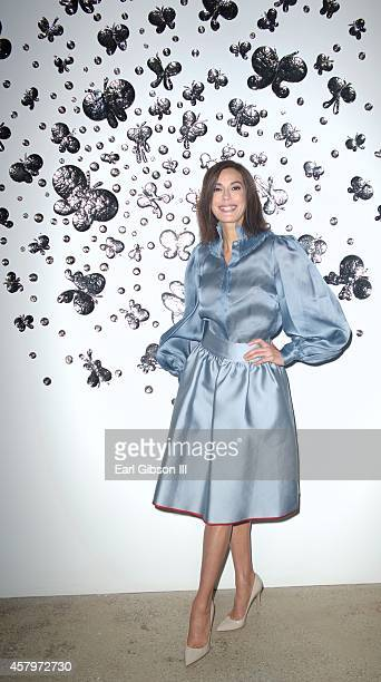 Actress Teri Hatcher attends the Ruffian Spring 2015 Fashion Show at Gavlak Gallery on October 27 2014 in Los Angeles California
