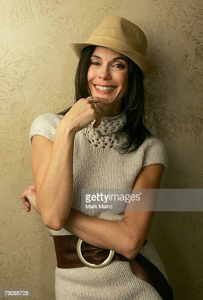 Actress Teri Hatcher from the film Resurrecting the Champ pose for a portrait during the 2007 Sundance Film Festival on January 20 2007 in Park City...