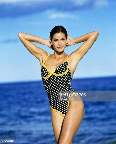 Actress Teri Hatcher is photographed for InStyle Magazine on March 1318 1996 in Cabo San Lucas Mexico PUBLISHED IMAGE