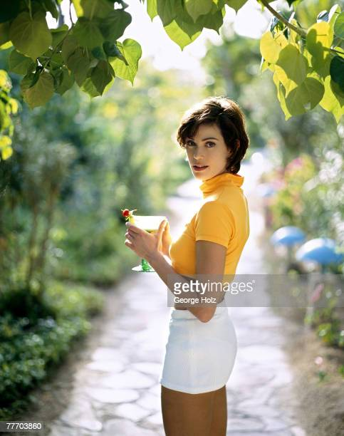 Actress Teri Hatcher is photographed for InStyle Magazine on March 1318 1996 in Cabo San Lucas Mexico
