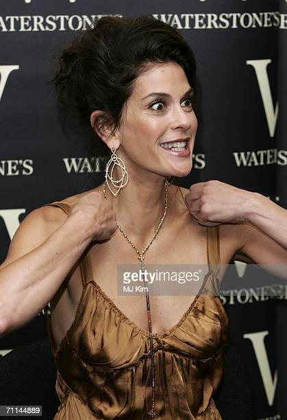 S actress Teri Hatcher promotes her new book 'Burnt Toast And Other Philosophies of Life' at Waterstone's on June 7 2006 in London