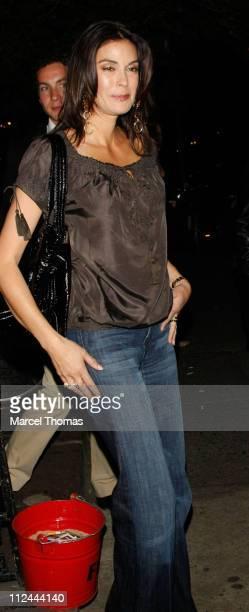 Actress Teri Hatcher visits Ye Waverly Inn restaurant on May 13 2008 in New York City