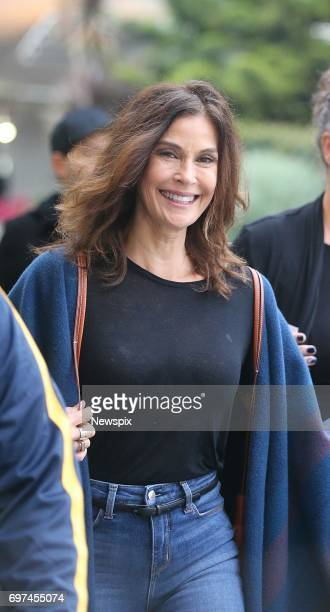 SYDNEY NSW Actress Teri Hatcher walks through Sydney Airport in Sydney New South Wales Teri Hatcher is in Sydney for the Supanova convention