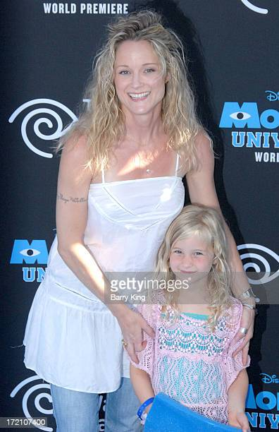 HOLLYWOOD CA JUNE Actress Teri Polo and daughter Bayley Wollam arrives at the Los Angeles Premiere 'Monsters University' at the El Capitan Theatre on...