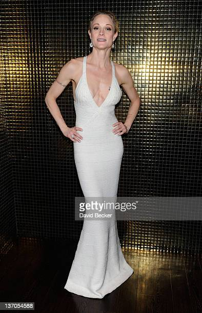 Actress Teri Polo appears at the Sugar Factory American Brasserie at the Paris Las Vegas on January 14 2012 in Las Vegas Nevada