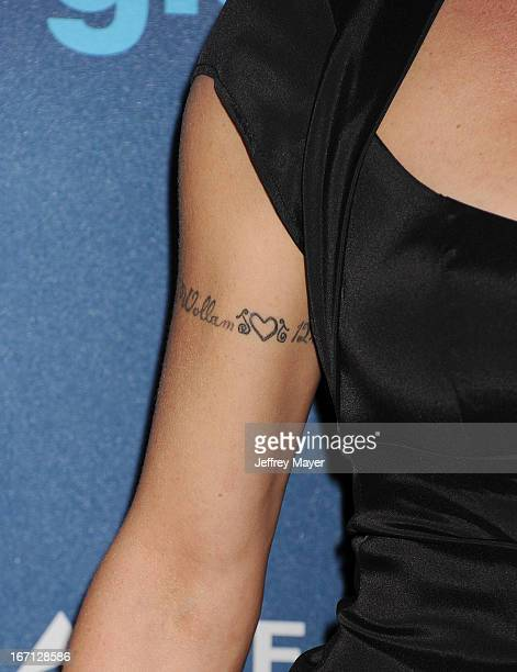 Actress Teri Polo at the 24th Annual GLAAD Media Awards at JW Marriott Los Angeles at LA LIVE on April 20 2013 in Los Angeles California