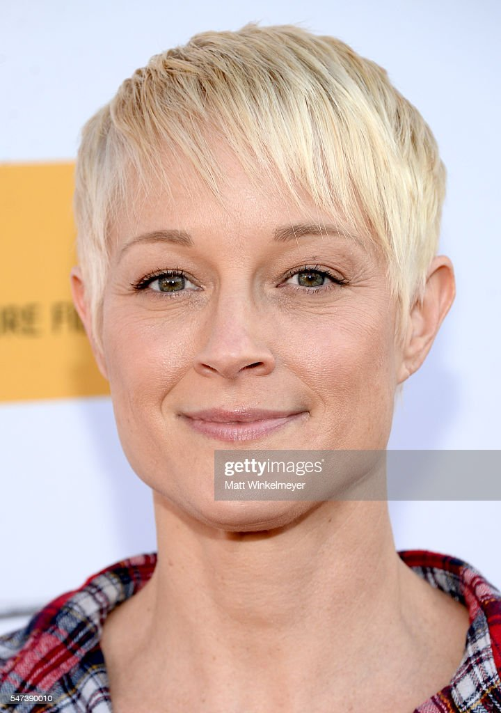 Actress Teri Polo attends the premiere of Momentum Pictures' 'Outlaws And Angels' at Ahrya Fine Arts Movie Theater on July 12, 2016 in Beverly Hills, California.
