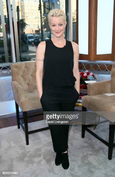Actress Teri Polo visits Hollywood Today Live at W Hollywood on February 14 2017 in Hollywood California