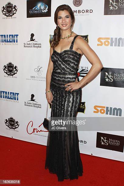 Actress Teri Reeves attends Hellman Walter's Salute To The Stars Oscar After Party Event Benefiting St Jude Children's Research Hospital at Andaz on...