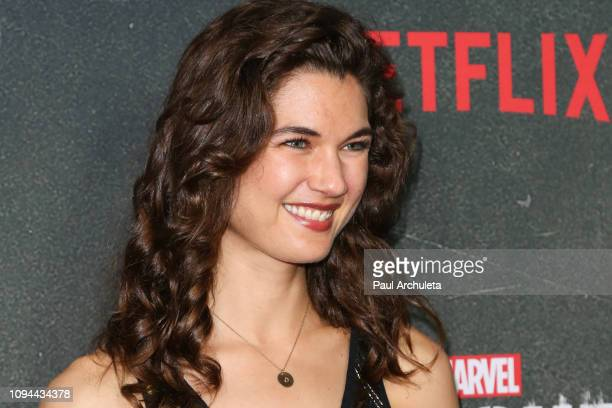 Actress Teri Reeves attends Marvel's The Punisher Los Angeles premiere at the ArcLight Hollywood on January 14 2019 in Hollywood California