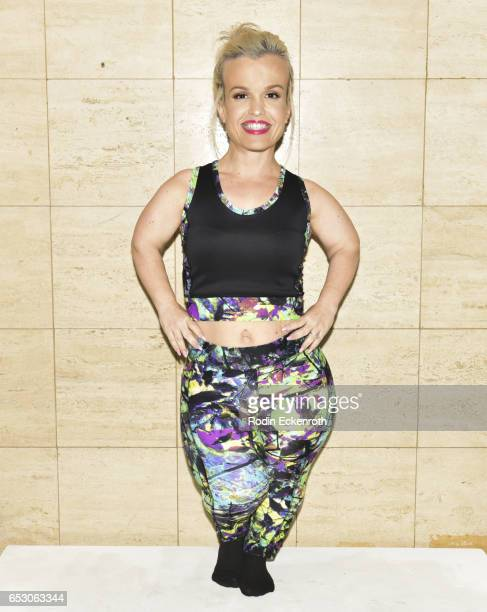 """Actress Terra Jole models fashion line at debut of Tonya Renee Banks' """"Lil Boss Body"""" at Fathom on March 13, 2017 in Los Angeles, California."""