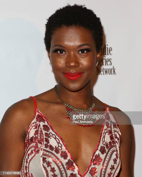 Actress Terra Strong attends the 10th Annual Indie Series Awards at The Colony Theater on April 03 2019 in Burbank California