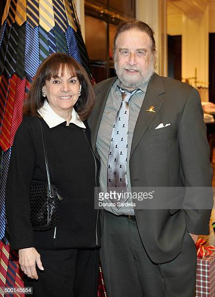 Actress Terre Thomas and guest attend the Brooks Brothers holiday party with St Jude Children's Research Hospital at Brooks Brothers on Rodeo Drive...