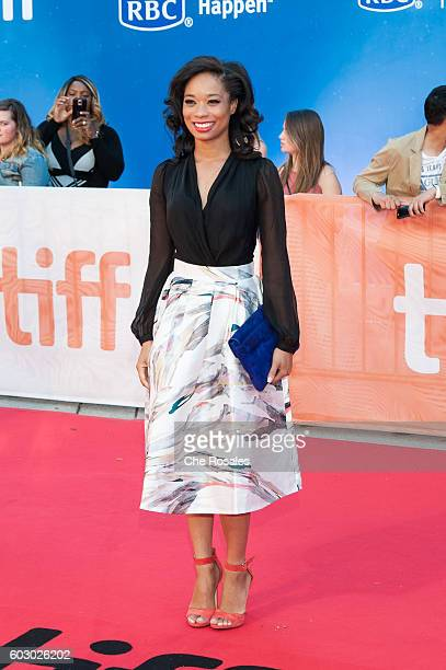 Actress Terri Abney attends the premiere of Loving during the 2016 Toronto International Film Festival at Roy Thomson Hall on September 11 2016 in...