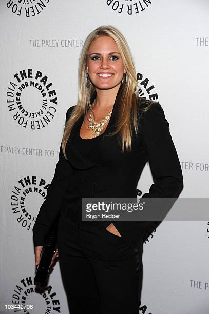 "Actress Terri Colombino attends a farewell to cast of ""As The World Turns"" at The Paley Center for Media on August 18, 2010 in New York City."