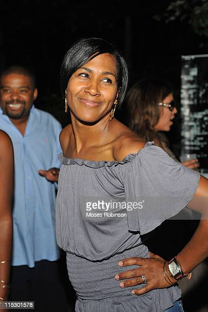 Actress Terri J Vaughn at a party to welcome Terri J Vaughn to Atlanta at a Private Residence on August 29 2009 in Atlanta Georgia