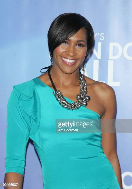 Actress Terri J Vaughn attends the New York premiere of Tyler Perry's I Can Do Bad All By Myself at the SVA Theater on September 8 2009 in New York...