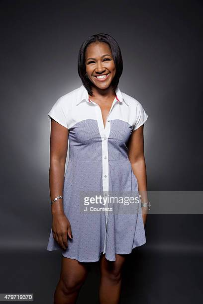 Actress Terri J Vaughn poses for a portrait at the American Black Film Festival on June 14 2015 in New York City