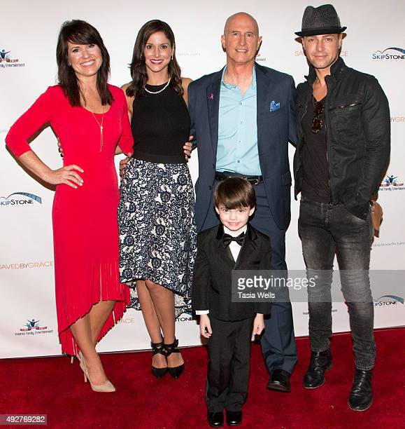 Actress Terri Minton actress Candice Michele Barly director Johnny Remo actor Joey Lawrence and actor Coulton Clark Hodges arrive at the Screening Of...