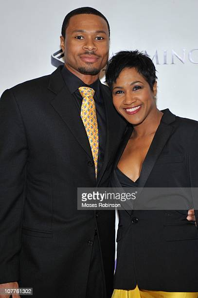 Actress Terri Vaughn and husband Karon Riley attend Devyne Stephens Annual Christmas Gala Winter Wonderland at Buckhead Theatre on December 22 2010...