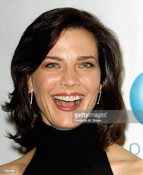 Actress Terry Farrell arrives for the American Oceans Campaign 2001 Partners Award honoring former President William Jefferson Clinton October 2 2001...
