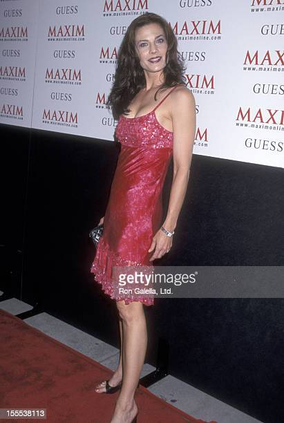 Actress Terry Farrell attends the Grand Opening Celebration of Maxim Motel on August 10 2000 at Maxim Motel in Hollywood California