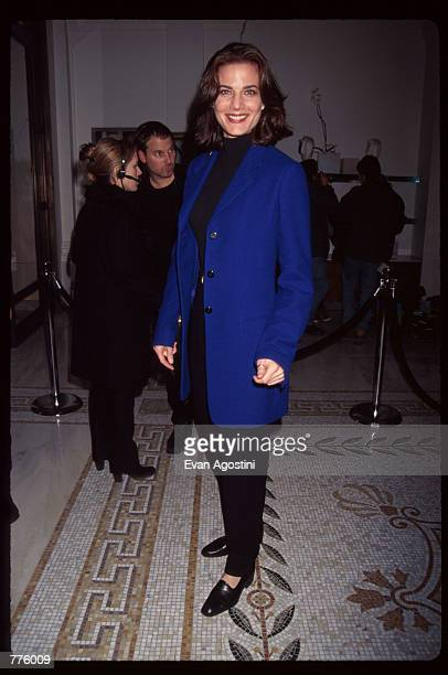 Actress Terry Farrell attends the grand opening of a new Versace Boutique on 5th Avenue October 26, 1996 in New York City. Gianni and Donatella...