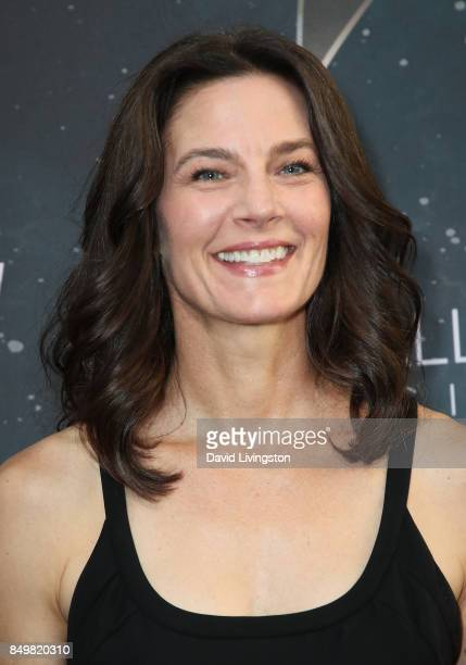 """Actress Terry Farrell attends the premiere of CBS's """"Star Trek: Discovery"""" at The Cinerama Dome on September 19, 2017 in Los Angeles, California."""