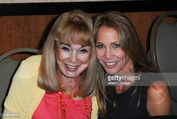 Actress Terry Moore and actress Kathleen Kinmont participate in The 2011 Fall Hollywood Show held at Burbank Airport Marriott Hotel Convention Center...