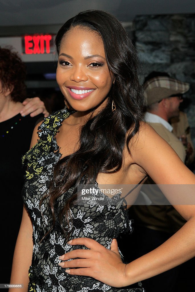 Actress Terry Pheto attends the Burberry supported premiere and celebration of 'Mandela: Long Walk to Freedom' hosted by The Weinstein Company and Entertainment One at the Toronto International Film Festival on September 7, 2013 in Toronto, Canada.