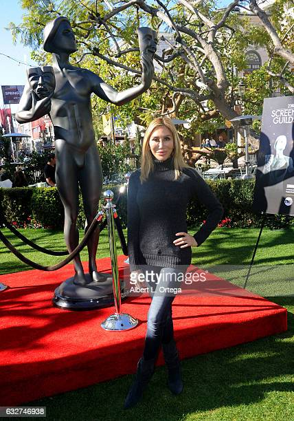 Actress Tess Broussard at the 23rd Annual Screen Actors Guild Awards Greet The Actor held at The Grove on January 25 2017 in Los Angeles California
