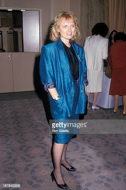Actress Tess Harper attends the 25th Annual Publicists Guild of America Awards on April 8 1988 at the Beverly Hilton Hotel in Beverly Hills California