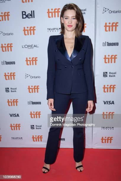 Actress Tess Haubrich attends the Nekrotonic Midnight Madness Premiere during the Toronto International Film Festival at Ryerson Theatre on September...