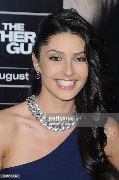 Actress Tess Kartel attends the New York premiere of The Other Guys at the Ziegfeld Theatre on August 2 2010 in New York City
