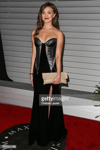 Actress Tessa Harnetiaux arrives at Maxim Hot 100 at Pacific Design Center on June 10 2014 in West Hollywood California
