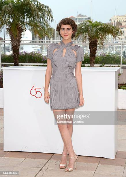 """Actress Tessa Ia poses at the """"Despues De Lucia"""" Photocall during the 65th Annual Cannes Film Festival at Palais des Festivals on May 21, 2012 in..."""