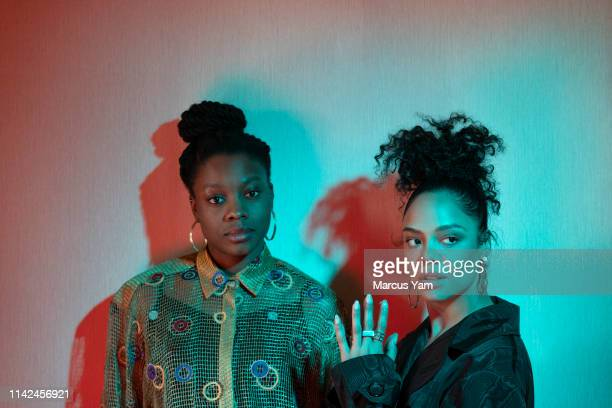 Actress Tessa Thompson and director Nia DaCosta are photographed for Los Angeles Times on March 24 2019 in West Hollywood California PUBLISHED IMAGE...