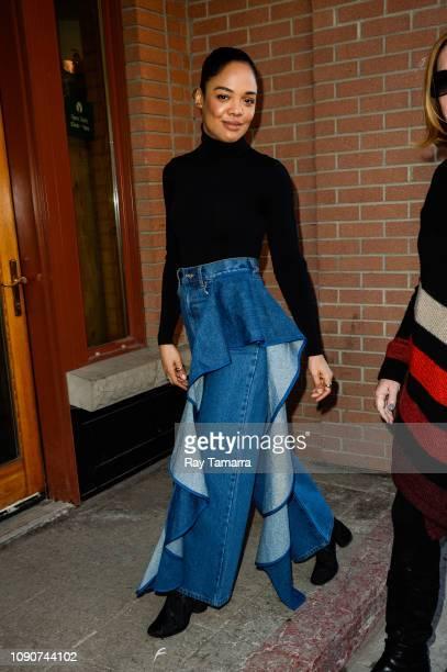 Actress Tessa Thompson attends the 2019 Sundance Film Festival on January 28 2019 in Park City Utah