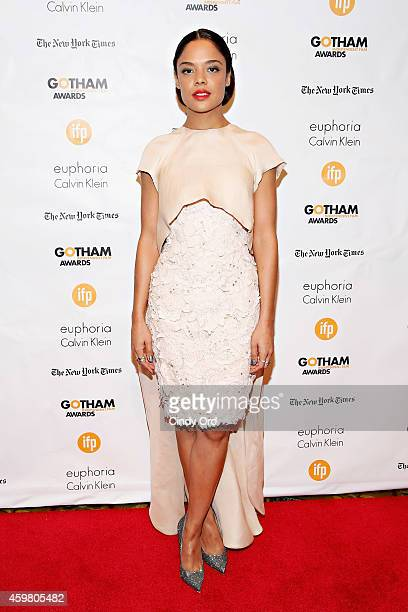 Actress Tessa Thompson attends the 24th Annual Gotham Independent Film Awards at Cipriani Wall Street on December 1 2014 in New York City
