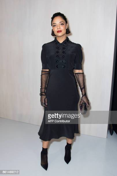 Actress Tessa Thompson attends the Hammer Museum Gala in the Garden honoring Ava Duvernay and Hilton Als sponsored by Bottega Veneta on October 14...