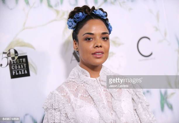 Actress Tessa Thompson attends the premiere of Woodshock at ArcLight Cinemas on September 18 2017 in Hollywood California