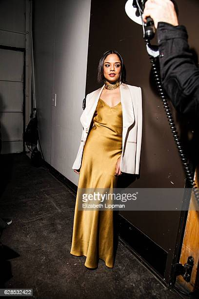 Actress Tessa Thompson is photographed on April 8, 2015 in New York City.