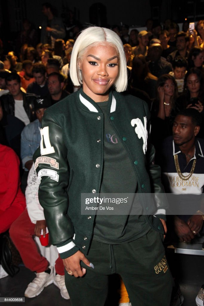 Actress Teyana Taylor attends Kith Sport fashion show at Classic Car Club on September 7, 2017 in New York City.