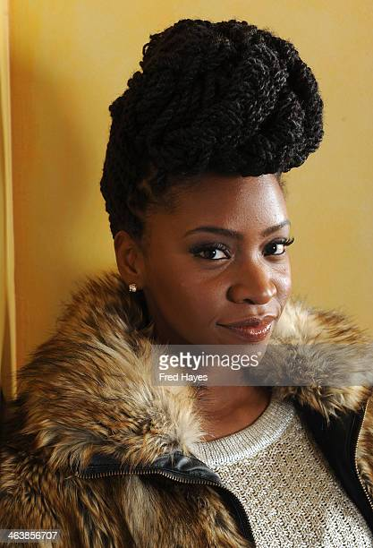 Actress Teyonah Parris attends the Actors SAG Indie Brunch at Cafe Terigo on January 19 2014 in Park City Utah