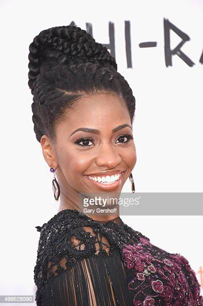 Actress Teyonah Parris attends the 'CHIRAQ' New York premiere at Ziegfeld Theater on December 1 2015 in New York City