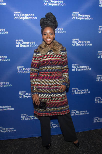 Actress Teyonah Parris Attends The Six Degrees Of Separation Opening Night Celebration At