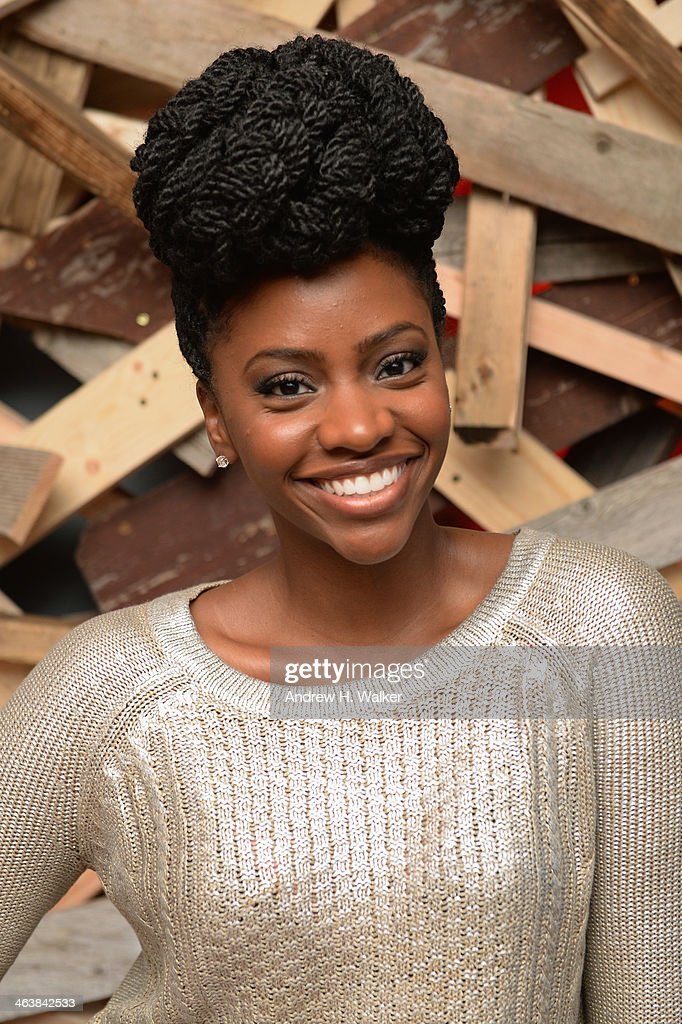 Actress Teyonah Parris attends the YouTube 'Dear White People' Reception on January 20, 2014 in Park City, Utah.
