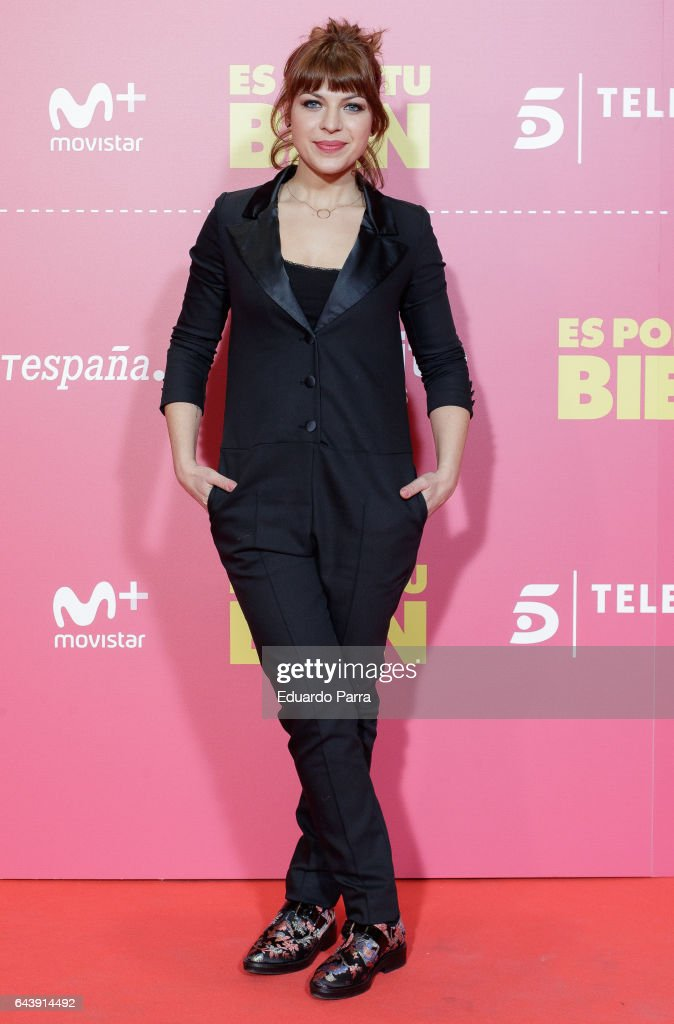 'Es Por Tu Bien' Madrid Premiere