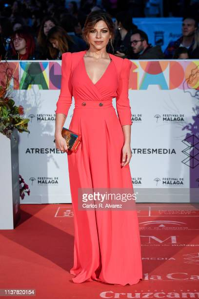 Actress Thais Blume attends the Malaga Film Festival 2019 closing day gala at Cervantes Theater on March 23 2019 in Malaga Spain